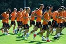 Футболисты Шахтера готовятся к матчу с Динамо в полном составе