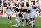 Лион и Бордо в результативном поединке победителя не выявили
