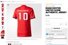Стартовала продажа футболок МЮ с фамилией Ибрагимовича под 10 номером
