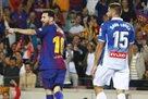 Хет-трик Месси помог Барселоне нокаутировать Эспаньол
