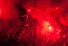 Фанаты Сантоса подрались с полицией и оказались запертыми внутри стадиона