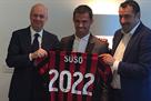 Сусо продлил контракт с Миланом