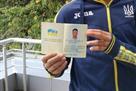 Марлос показал украинский паспорт