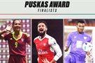 Объявлены три финалиста голосования за лучший гол года