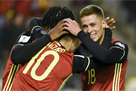 Отбор ЧМ-2018: Греция вышла в стыки, Азары принесли победу Бельгии и другие матчи дня
