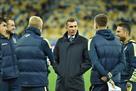 Шевченко попросил ФФУ организовать товарищеские матчи для сборной Украины