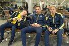 Сборная Украины вылетела во Львов