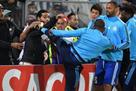 Эвра дисквалифицирован на матчи еврокубков до конца сезона
