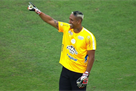 Бразильский вратарь повторил удар скорпиона Игиты