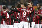 Милан разгромил Верону и вышел в четвертьфинал Кубка Италии