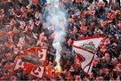 Болельщики устроили побоище во время дерби Партизан — Црвена Звезда
