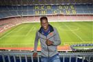Как Барселона Йерри Мину встречала