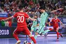 Россия — Португалия 2:3 Видео голов и обзор матча Евро-2018 по футзалу