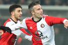 Ван Перси забил первый гол после возвращения в Фейеноорд