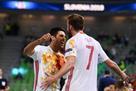Испания в серии пенальти одолела Казахстан на пути в финал Евро-2018 по футзалу