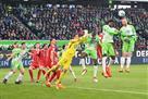 Бавария в компенсированное время вырвала победу над Вольфсбургом