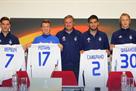 Динамо представило новичков клуба