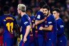 Барселона уничтожила Жирону в каталонском дерби