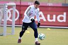 Хамес вернулся к тренировкам с Баварией