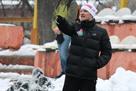 Алиев одержал победу в дебютном матче в качестве тренера