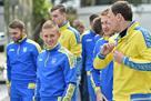 Сборная Украины провела тренировку перед матчем с Саудовской Аравией