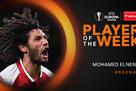 Эльнени – лучший игрок недели в Лиге Европы