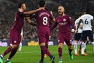 Манчестер Сити уверенно обыграл Тоттенхэм