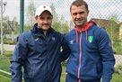 Сергей Ребров посетил тренировку Олимпика