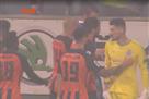 На последних минутах матча Динамо – Шахтер игрок гостей спровоцировал потасовку