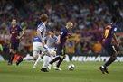 Барселона минимально обыграла Реал Сосьедад в последнем матче Иньесты