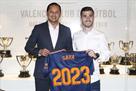 Гайя продлил контракт с Валенсией с клаусулой в 100 миллионов евро