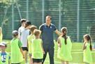 Легендарные игроки сборной Украины провели занятие для детей