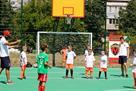 УКРГАЗБАНК и Mastercard обновили футбольную площадку в Запорожье