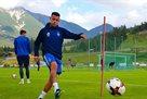 Сидклей провел первую тренировку в Динамо