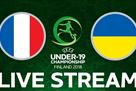 Франция — Украина: видеотрансляция матча Евро-2018 U19 начнется в 20:15