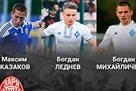 Официально: Заря подписал трех игроков Динамо