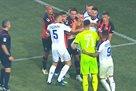 Удаление Бурды и Исмаили в концовке матча Шахтер — Динамо