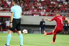 Крутой гол со штрафного в матче Олимпиакос – Бернли