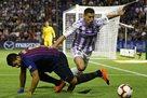 Барселона официально пожалуется на газон в Вальядолиде