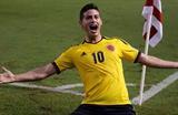 Джеймс Родригес приносит победу Колумбии, futbolred.com
