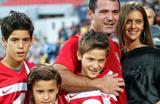Станкович вместе с семьей после вчерашнего матча, Getty Images