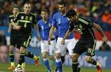 Диего Коста (справа) стал худшим игроком в составе хозяев, фото corrieredellosport.it