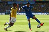 Хуан Куадрадо против Хосе Холебаса, Getty Images