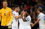 Сборная Англии празднует второй забитый мяч, Getty Images