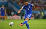 Дубль Медуньянина выводит Боснию в плей-офф, Getty Images
