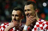 Дуэт из Интера Брозович-Перишич приносит Хорватии победу, getty images