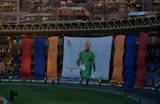 Вот армянские болельщики провожали Романа Березовского на
