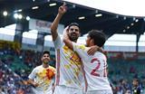 Дубль Нолито принес Испании победу, gettyimages.com