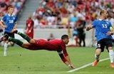 В таком прыжке Роналду забил первый гол, getty images