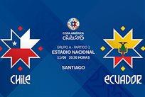 Копа Америка — 2015. Чили — Эквадор 2:0